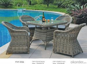 Garden Wicker Sofa Aluminum Frame PE Rattan Outdoor Patio Furniture