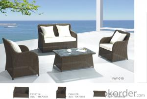 Patio Rattan  Sofa for Wicker Chair Garden