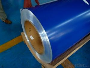 color coated galvanized steel coil for making roofing tile