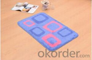 Tufted Mat in Fashion Customized Various Sizes
