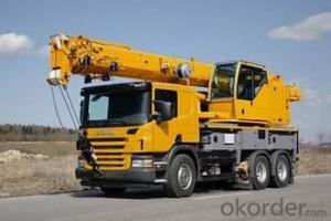 Truck Crane Construction Machinery For Transportation Truck Crane
