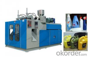 Plastic Bottle Making Machine Double Station Max Volume 2L