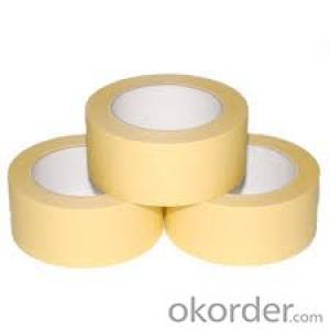 Masking Tape General Purpose Crepe Paper for Automobile Painting