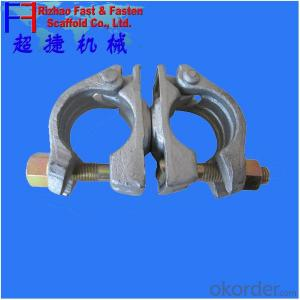 scaffold drop forged german type  couplers