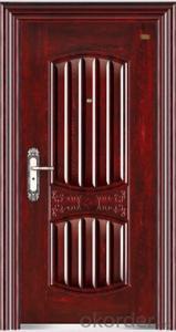 Prime High - End Galvanized Steel Door  In China