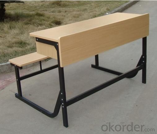 Double Desk with Quality Wooden Screen and Chair  DY-30031