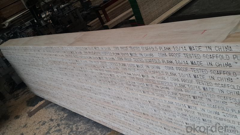 Radiate pine LVL Scaffolding Plank for construction
