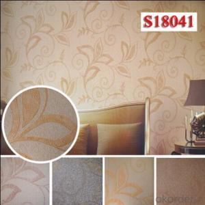 PVC Wallcovering Custom Printable Wallcoverings PVC Material