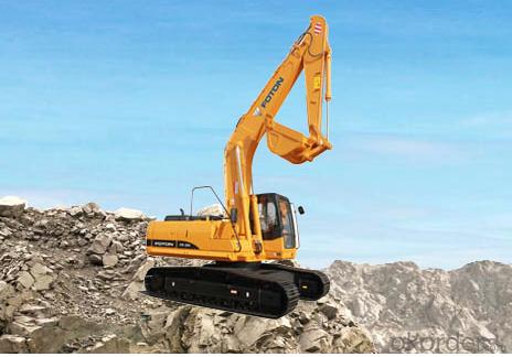 Excavator : FR330,Enhanced Working Device Design, Adopting Cast-weld Structure