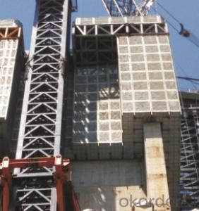 Automatic Climbing Formworks In Construction Building