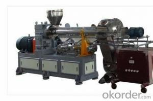 Single Screw Recycling Machine and Granulating Extruder Line