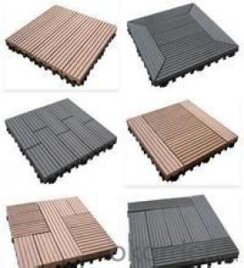 Outdoor Wood Plastic composite engineered Decking
