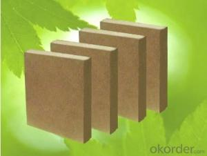 E1/E2 grade raw MDF Board Sheet/melamine mdf board
