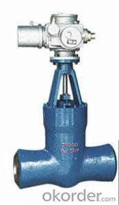 Gate Valve for power station handwheel Pneumatic