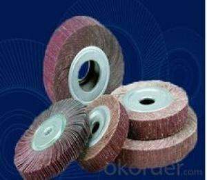 Flap Wheel for Wood Polishing 100mm Abrasive Tools