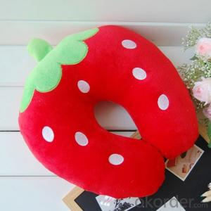 Fruit Shape Travel Pillow for Decoration