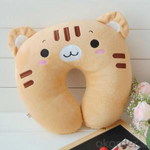 Cute Travel Pillow of Cat Shape for Protecting Your Neck