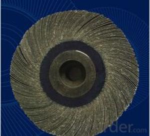 Glory Customized Alumina Calcined Abrasive Flap Wheel