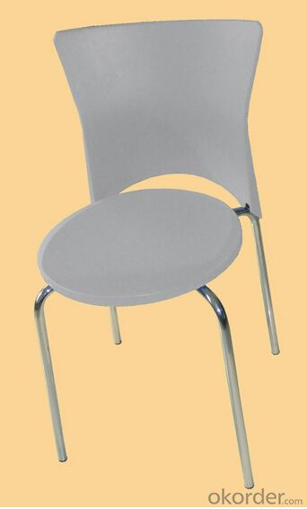 plastic chair with solid wood legs High quality Mordern design Cheap