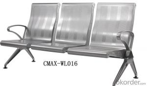 Public Waiting Chair with 3 Seater CMAX-WL016