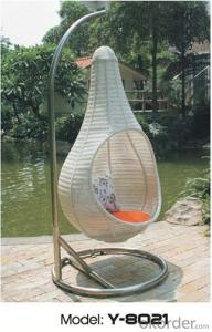 UV Resisitant PE Rattan Swing Chair/ Hanging Chair