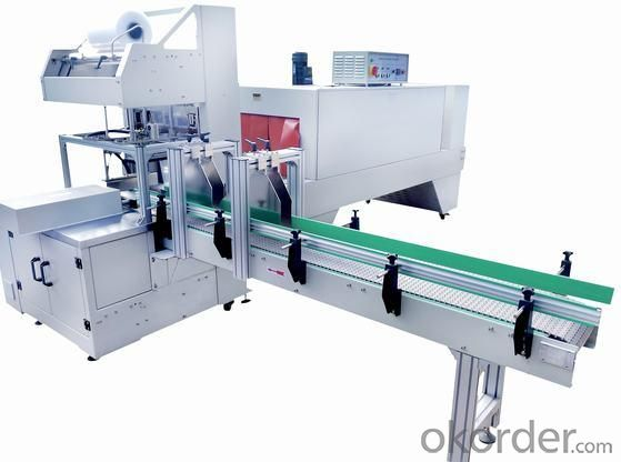 FULLY-AUTO SLEEVE SEALER & SHRINK TUNNEL (INTEGRAL TYPE)