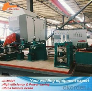 High frequency welder for round and special pipe seam welding