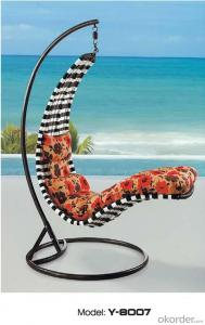 PE Wicker Rattan Swing Chair to European Countries