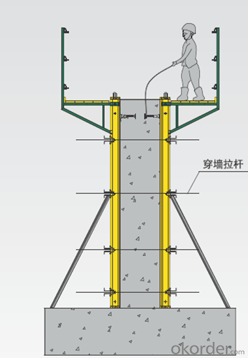 Cantilever Formwork CB-240 for Construction Building