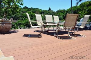 Ecological projects WPC Deck for garden building