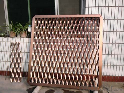 Buy Aluminum Expanded Metal Mesh For Cladding Price Size