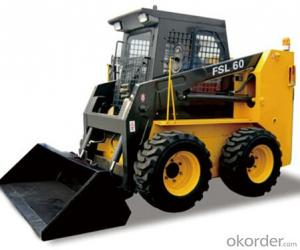 Skid Steer Loader: FSL60,All-wheel Drive, Suitable for Uneven Ground;