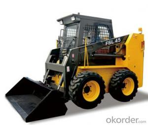 Skid Steer Loader: FSL45,Compact Structure, Flexible Mobility and Suitable for Narrow Ground