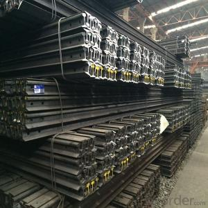 Mild Hot Rolled Light Steel Rail Q235, 55Q for Mines