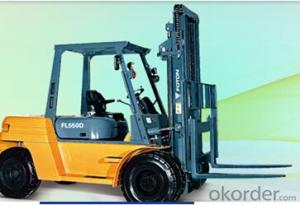 Forklift: FL520D,All Hydraulic Control System, Load Sensor, Simple Operation
