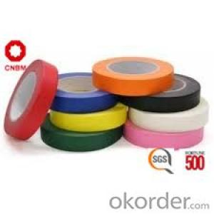 Adhesive Tape with Double Sided Tissue Water Based Acrylic 110 Micron  All Color Available