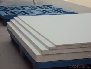Industry Ceramic Fiber Board for Insulating Foundry Factory