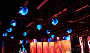 sphere LED display for the big events and ceremony