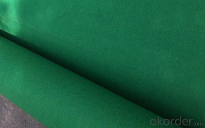 Green Golf Mat Needle Punched Exhibition Carpet