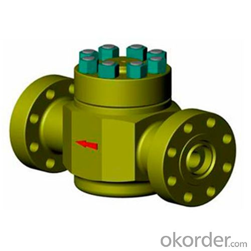 Check Valve with API 6A Standard for Oilfield Usage