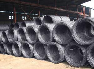 Hot Rolled Steel Wire Rod SAE1006  5.5MM-14MM