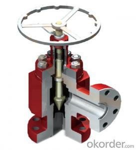 Fixed choke valve with API 6A Standard for Oil Field Usage