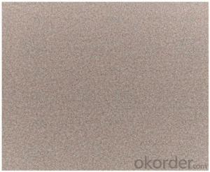 Waterproof Abrasives Sanding Paper  for Inox Surface