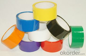 Bopp Adhesive Tape Jumbo Roll Colorful Adhesive Tape for Packing
