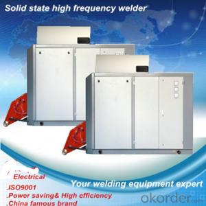 Hollow sections structural steel solid state welding equipment