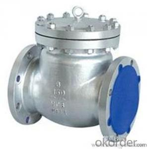 API Cast Steel Check Valve  100 mm  in Accordance with ISO17292、API 608、BS 5351、GB/T 12237