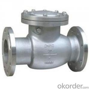 API Cast Steel Check Valve  300 mm  in Accordance with ISO17292、API 608、BS 5351、GB/T 12237