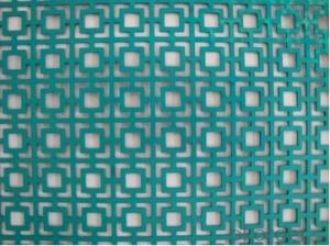 Decorative perforate metal sheet high quality