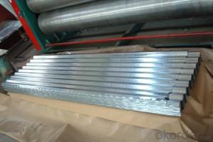 Hot-Dip Galvanized Steel Roof with High Quality of China
