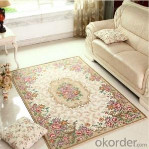 Thick Carpet Tiles through Hand Make with Modern Design